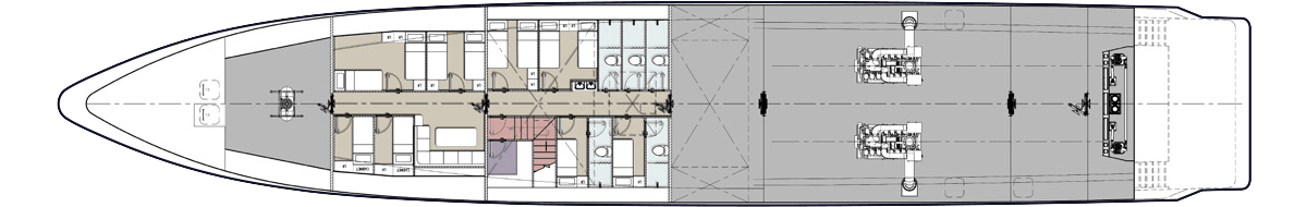 Below Deck Plan