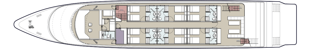 Upper Deck Plan